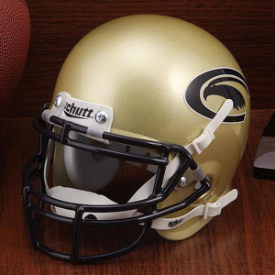 Clarion Golden Eagles Schutt XP Authentic Mini Football Helmet