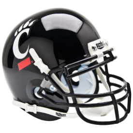 Cincinnati Bearcats Schutt Mini Football Helmet Desk Caddy