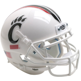 Cincinnati Bearcats Tribal Stripe Schutt XP Authentic Mini Football Helmet