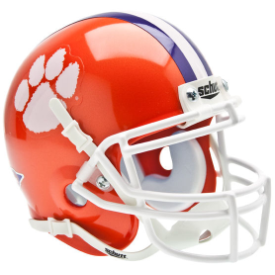 Clemson Tigers Schutt XP Authentic Mini Football Helmet