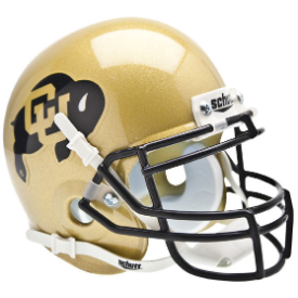 Colorado Buffaloes Schutt XP Authentic Mini Football Helmet