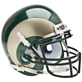 Colorado State Rams Schutt XP Authentic Mini Football Helmet