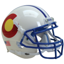 Colorado State Rams Colorado Schutt XP Authentic Mini Football Helmet