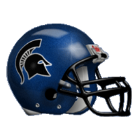 Dubuque Spartans Schutt XP Authentic Mini Football Helmet