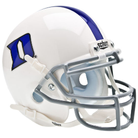 Duke Blue Devils Schutt XP Authentic Mini Football Helmet
