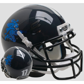 Duke Blue Devils Black Schutt XP Authentic Mini Football Helmet