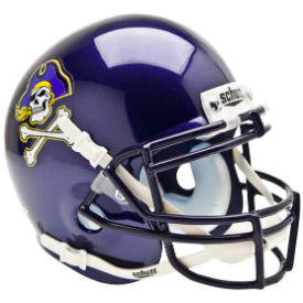East Carolina Pirates Schutt XP Authentic Mini Football Helmet
