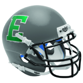 Eastern Michigan Eagles Gray Schutt XP Authentic Mini Football Helmet