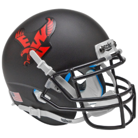 Eastern Washington Eagles Matte Black Schutt XP Authentic Mini Football Helmet