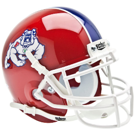 Fresno State Bulldogs Schutt XP Authentic Mini Football Helmet