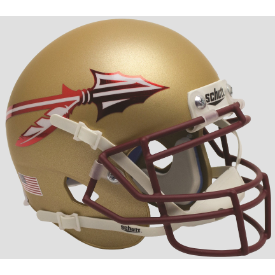 Florida State Seminoles Alt 2015 Schutt XP Authentic Mini Football Helmet