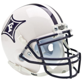 Furman Paladins Schutt XP Authentic Mini Football Helmet