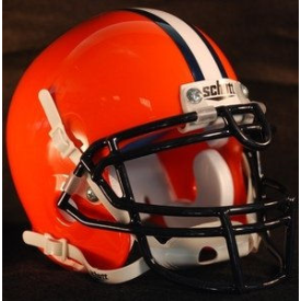 Gettysburg Bullets Schutt XP Authentic Mini Football Helmet