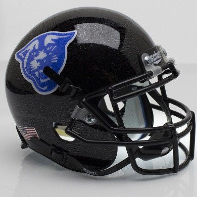 Georgia State Panthers Black Alt Schutt XP Authentic Mini Football Helmet