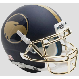 Georgia Southern Eagles Matte Navy Schutt XP Authentic Mini Football Helmet