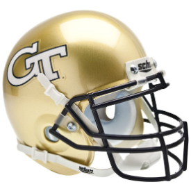 Georgia Tech Yellow Jackets Schutt XP Authentic Mini Football Helmet