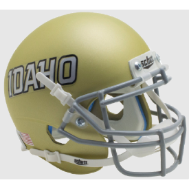 Idaho Vandals Gold Schutt XP Authentic Mini Football Helmet