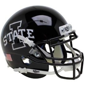 Schutt NCAA Iowa State Cyclones Replica XP Football Helmet