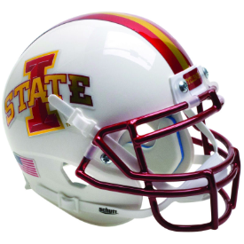 Iowa State Cyclones White Schutt XP Authentic Mini Football Helmet