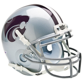 Kansas State Wildcats Schutt XP Authentic Mini Football Helmet