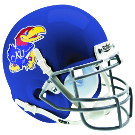 Kansas Jayhawks Schutt XP Authentic Mini Football Helmet