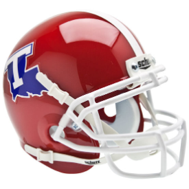 Louisiana Tech Bulldogs Schutt XP Authentic Mini Football Helmet