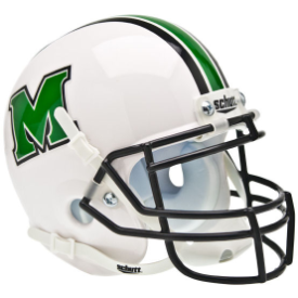 Marshall Thundering Herd Schutt XP Authentic Mini Football Helmet