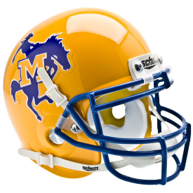 McNeese State Cowboys Schutt XP Authentic Mini Football Helmet