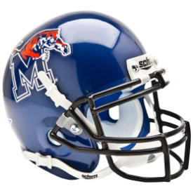 Memphis Tigers Schutt XP Authentic Mini Football Helmet