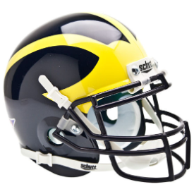 Michigan Wolverines Schutt XP Authentic Mini Football Helmet