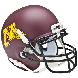 Minnesota Golden Gophers Schutt XP Authentic Mini Football Helmet