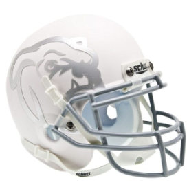 Mississippi State Bulldogs Matte White Schutt XP Authentic Mini Football Helmet