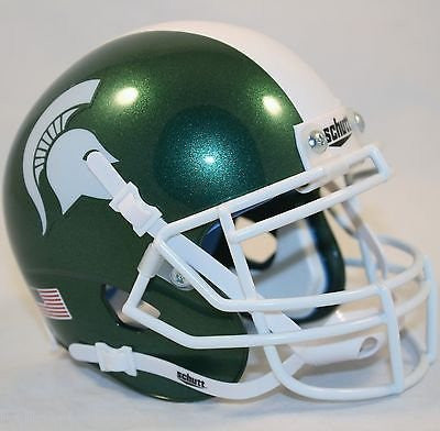Michigan State Spartans Schutt XP Authentic Mini Football Helmet