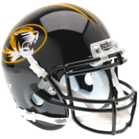 Missouri Tigers Schutt XP Authentic Mini Football Helmet