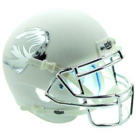 Missouri Tigers Matte White Schutt XP Authentic Mini Football Helmet
