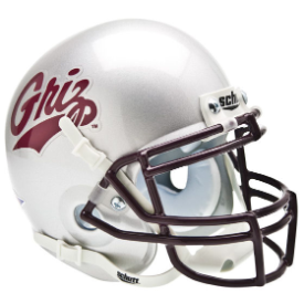 Montana Grizzlies Schutt XP Authentic Mini Football Helmet