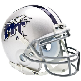 Middle Tennessee State Blue Raiders Schutt XP Authentic Mini Football Helmet