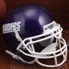 Mount Union Purple Raiders Schutt XP Authentic Mini Football Helmet