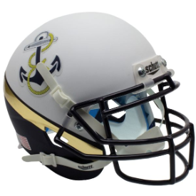 Navy Midshipmen Anchor Schutt XP Authentic Mini Football Helmet