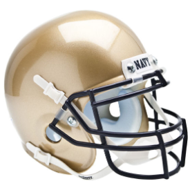 Navy Midshipmen Schutt XP Authentic Mini Football Helmet