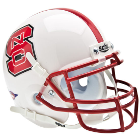 North Carolina State Wolfpack Schutt XP Authentic Mini Football Helmet