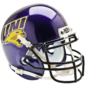 Northern Iowa Panthers Schutt XP Authentic Mini Football Helmet