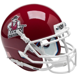New Mexico State Aggies Schutt XP Authentic Mini Football Helmet