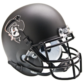 Oklahoma State Cowboys Pistol Pete Black Schutt XP Authentic Mini Football Helmet