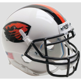 Oregon State Beavers Orange Stripe Schutt XP Authentic Mini Football Helmet