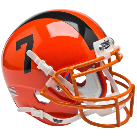 Oregon State Beavers Orange Schutt XP Authentic Mini Football Helmet