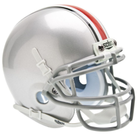 Ohio State Buckeyes Schutt XP Authentic Mini Football Helmet