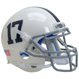 Penn State Nittany Lions White Number 17 Schutt XP Authentic Full Size Football Helmet