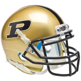 Purdue Boilermakers Schutt XP Authentic Mini Football Helmet