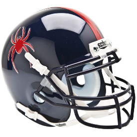 Richmond Spiders Schutt XP Authentic Mini Football Helmet